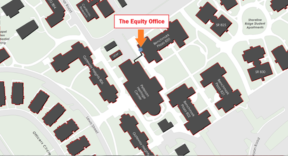 Equity Office location map