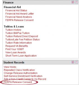 FERPA-release-consent-screenshot