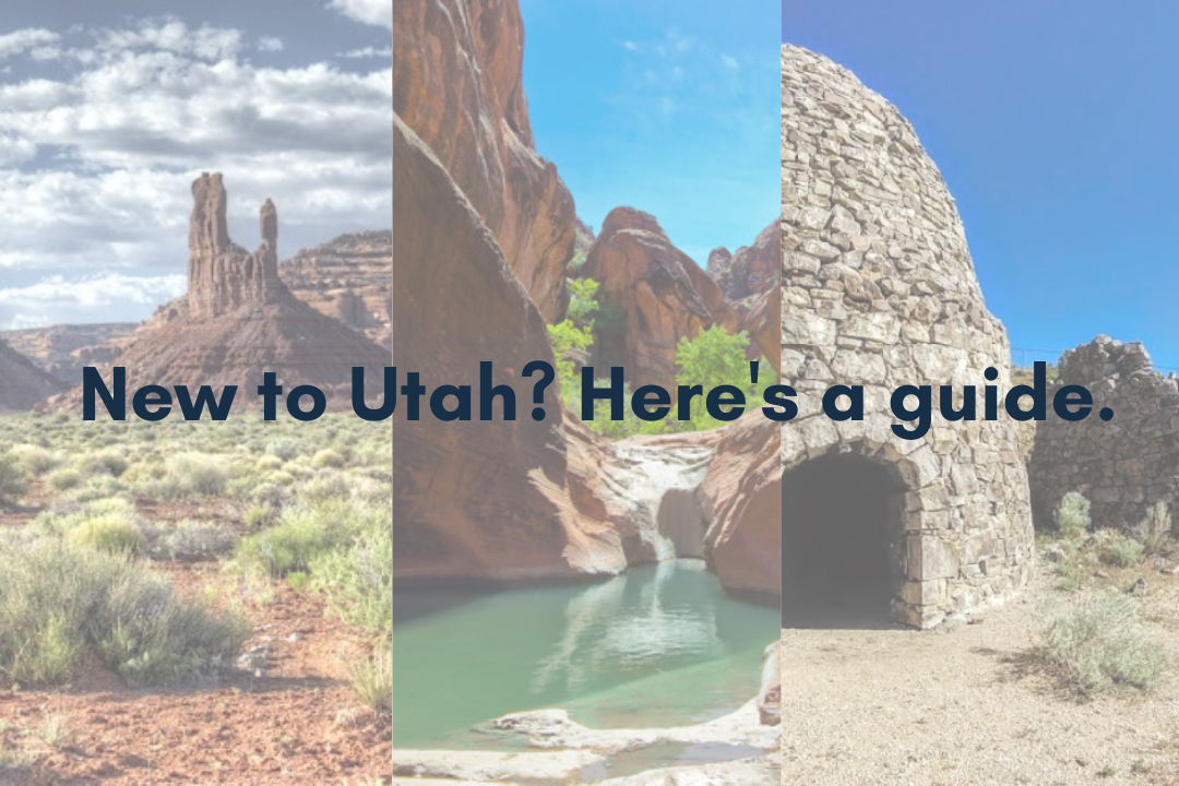 New to Utah? Here's a guide.