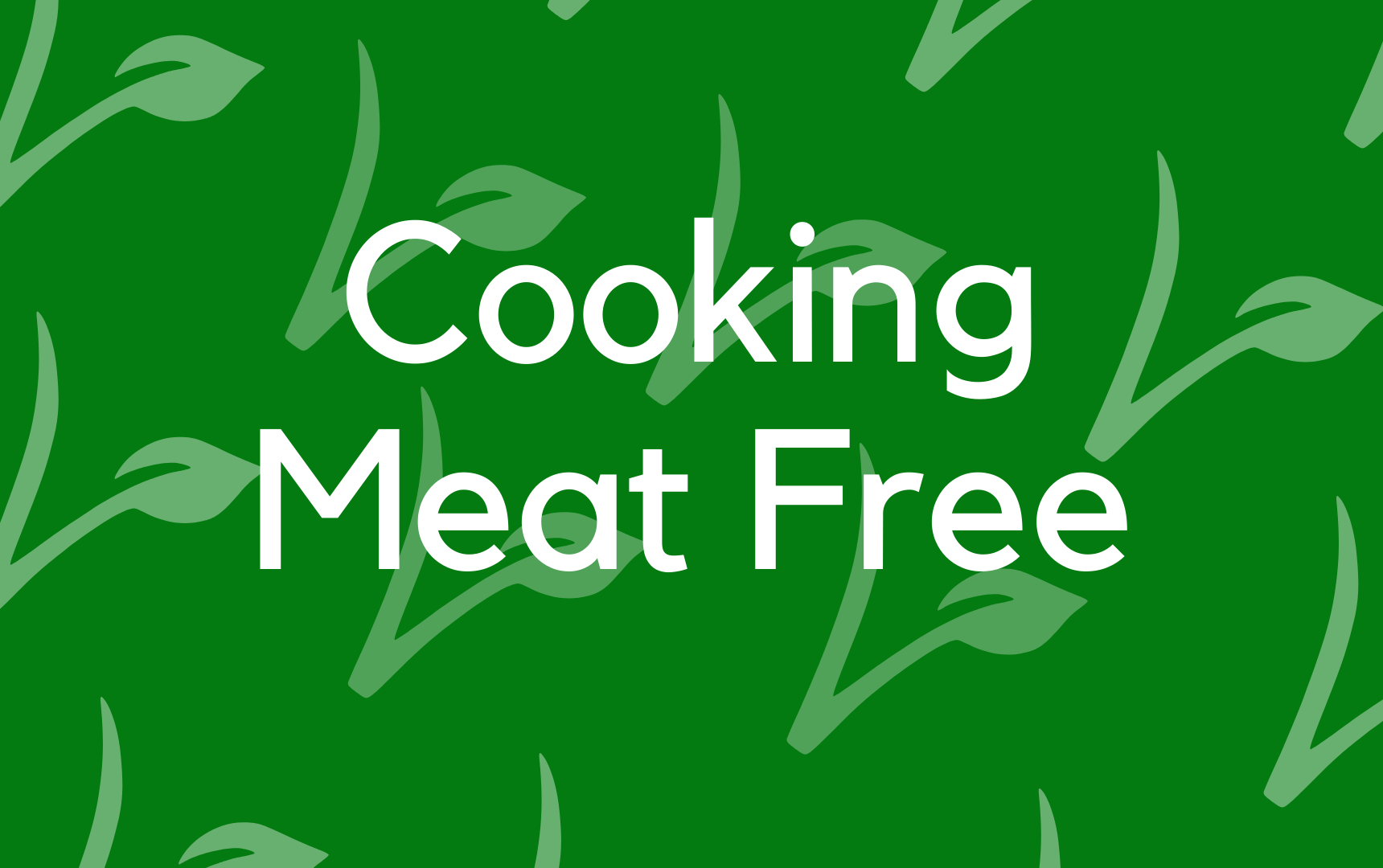 Cooking Meat Free