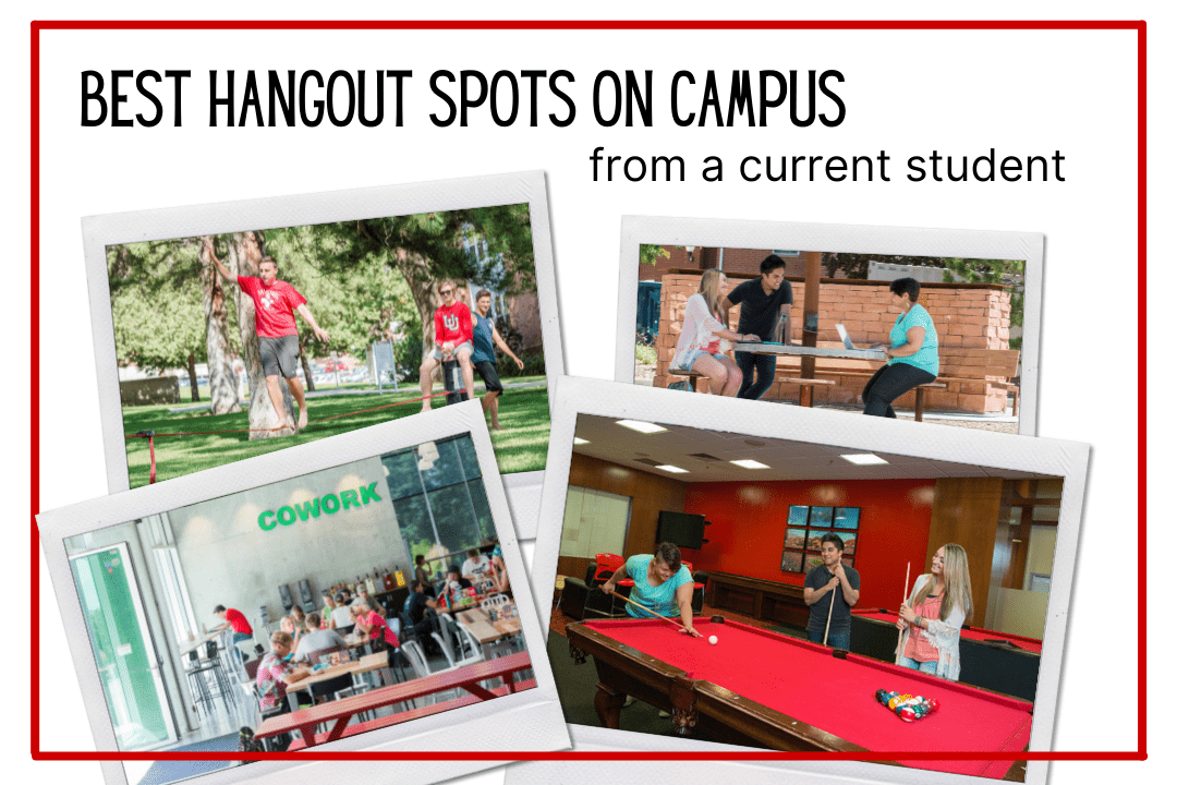 Hangout Spots on Campus