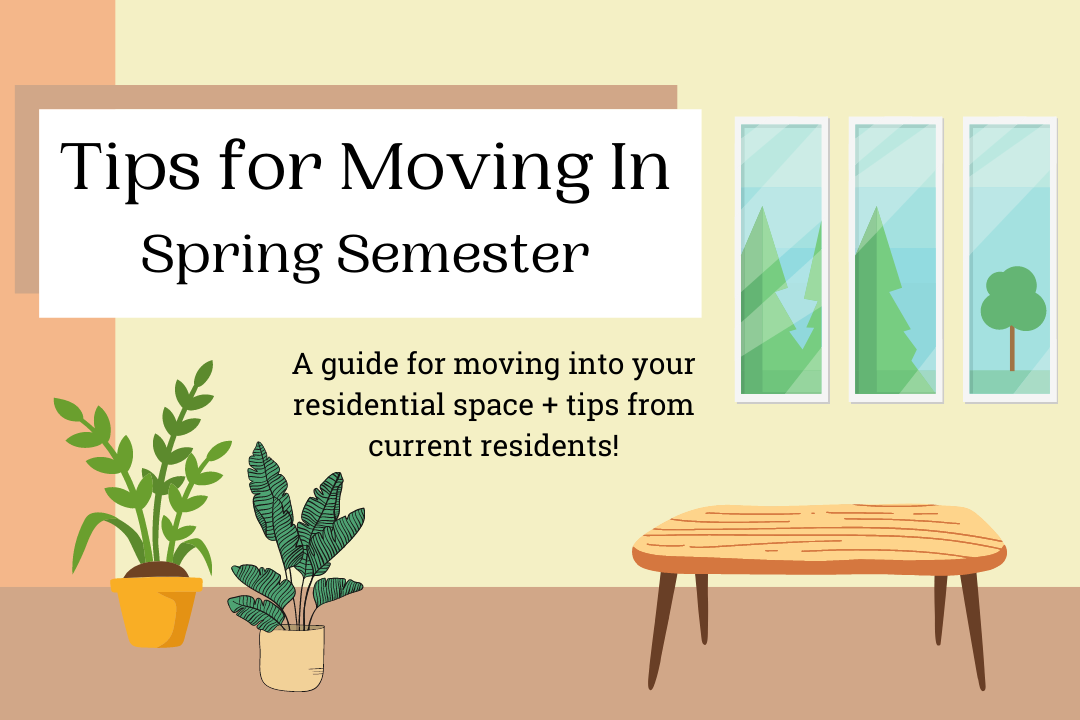 Tips For Moving In blog post graphic