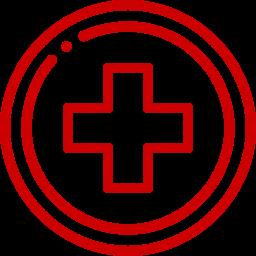 red calendar linear icon